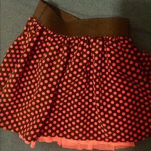 Girls reversible pink skirt